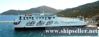 2002Blt,500Pax LCT Type Passenger Car Ferry for Sale
