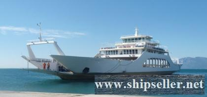 2009Blt,1000Pax Double Ended Passenger Car Ferry for Sale