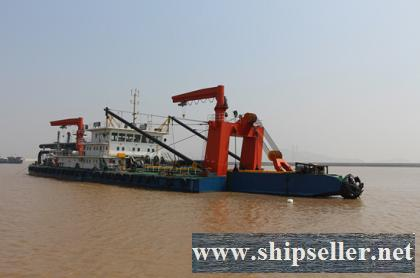 2015Blt, Class ZC, 3200CBM/H Non-propelled Cutter Suction Dredger for Sale