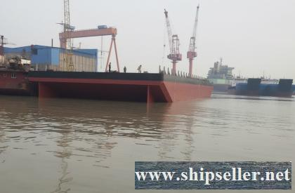 N/B 250FT 20T/M2 Ballast Deck Barge for Sale