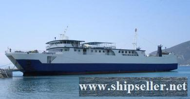 1989Blt, Class IACS, 550Pax RoRo Passenger Ferry for Sale