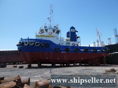 1260 BHP TWIN CREW TUG BOAT FOR SALE