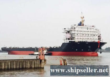N/B 12,733 DWT SELF PROPELLED DECK BARGE FOR SALE