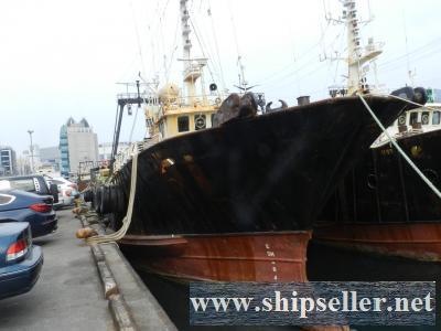 34.44m, 1991 blt  stern trawler for sale