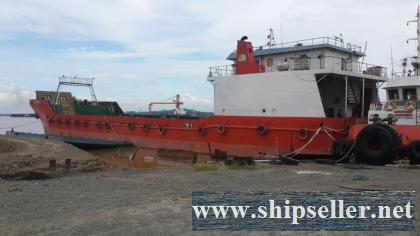 1500 DWT LCT TYPE OIL BARGE FOR SALE