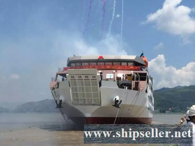 NEW BUILT RORO 498PAX CAR FERRY FOR SALE