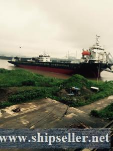8234 DWT SELF PROPELLED DECK BARGE FOR SALE