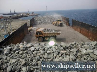 2 x 10,000 DWT BV SELF PROPELLED DECK BARGE FOR SALE