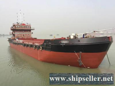 2 x 1,500CBM SELF-PROPELLED SPLIT HOPPER BARGE FOR SALE