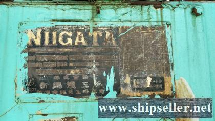 2 x NIIGATA 6M31AFTE USED DIESEL ENGINE FOR SALE
