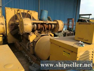 2 x  Caterpillar CAT3512DTTA  USED GENSET  FOR SALE
