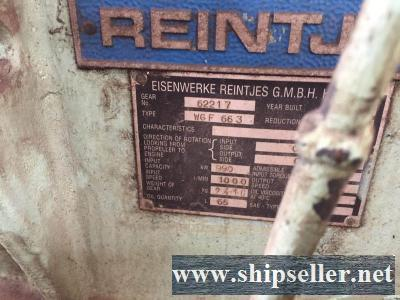2x REINTJES WGF 663 USED GEARBOX FOR SALE