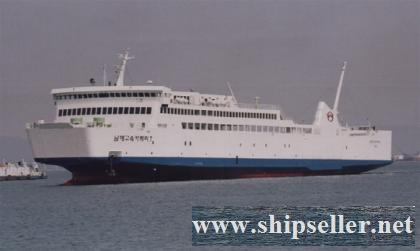 900PAX RORO PAX&CAR FERRY FOR SALE