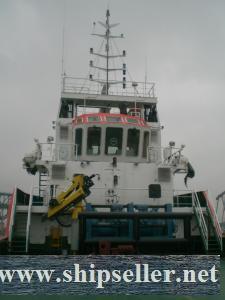N/B 3000BHP UTILITY OCEAN GPING TUGB OAT FOR SALE