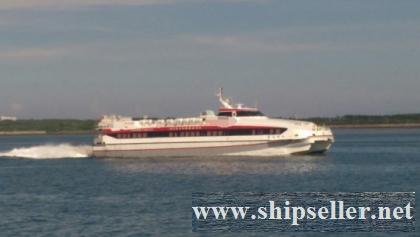 298PAX CATAMARAN FAST FERRY FOR SALE