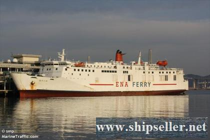 653PAX RORO PASSANGER CAR FERRY FOR SALE