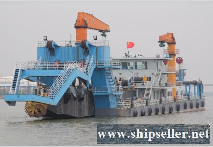 2000CBM/HR CUTTER SUCTION HOPPER DREDGER FOR SALE