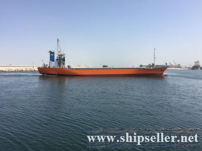 2907 DWT GENERAL CARGO / CONTAINER VESSEL FOR SALE