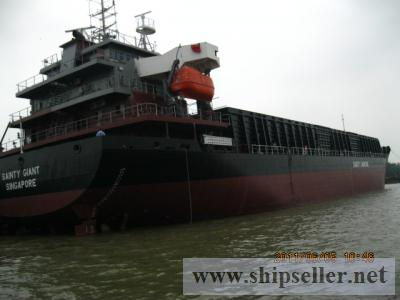 10000 DWT SELF PROPELLED  DECK CARGO BARG