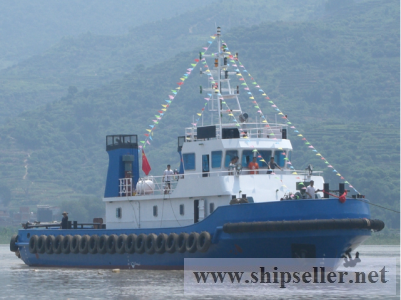 1080HP new built tug boat with good price: USD0.75M