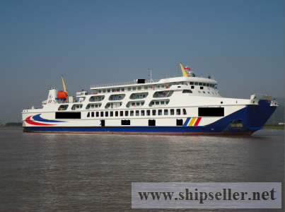 four units sisters new built 680P/40cars RORO Passenger directly from sipyard