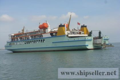 we have 400P roro passenger for sale directly from the shipowner
