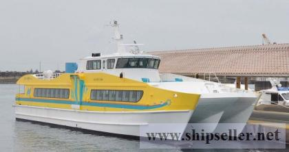 120P catamaran/2010Japan built  passenger