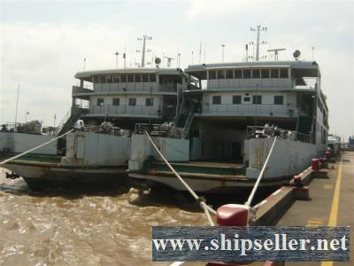 two units of  57M/400P/1997built Ro Ro passenger ferry for sale