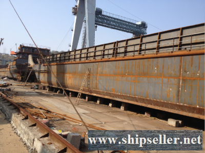 2500DWT SELF PROPELLER BARGE FOR SALE(LCT TYPE)