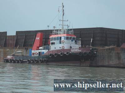 1999BLT/ 2,400 hp towing tug /8,000 dwt barge