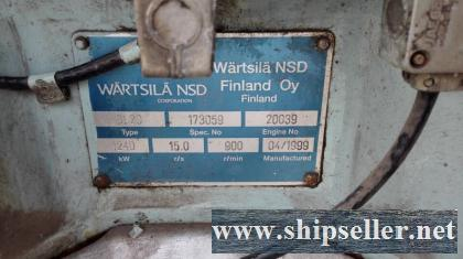 WARTSILA 8L20 diesel gensets available for sale