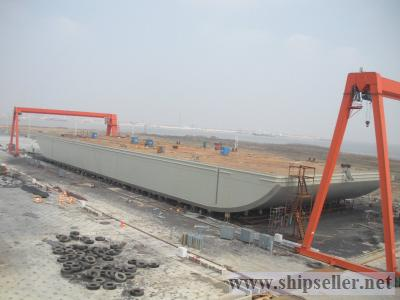 300'X100'X22' deck barge for sale