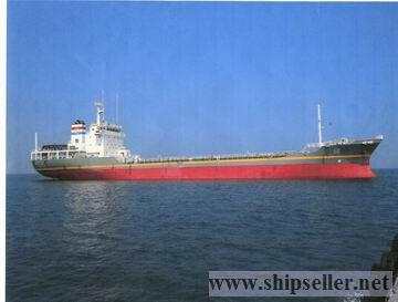 sell 6,698t waste handling tanker