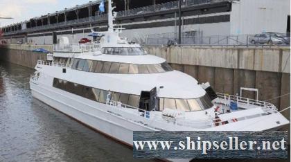 1994/2010 36.6m x 10.4m x 3.8m Aluminum Catamaran/340 PAX Passenger Vessel