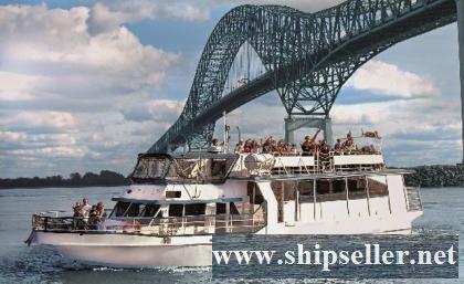 1993/2012-2013 18m x 4.63m x 1.5m 71 PAX Passenger Vessel