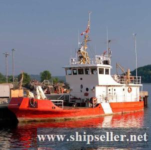 1980 19.05m x 6m x 1.35m Steel Ex Canadian Coast Guard Buoy Tender
