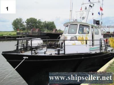 1969 Halter built 73' x 17' x 10' Commercial Dive Boat