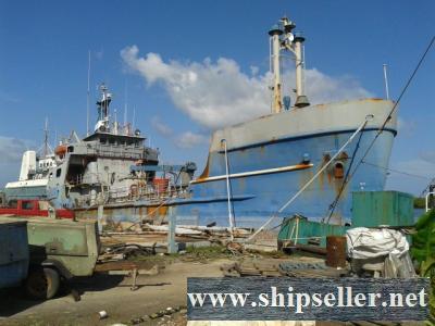 1973 52.13m x 10.29m x 4.57m Steel Tanker Vessel