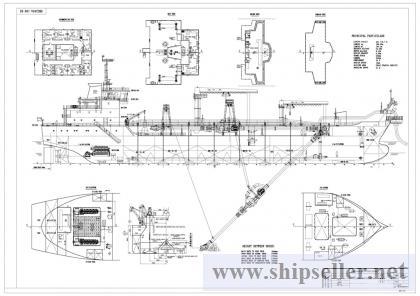 7000CBM Trailing Suction Hoppper Dredger