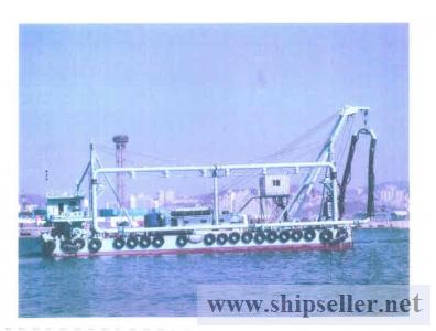 CUTTER SUCTION SAND PUMPING BARGE FOR SALE ( SDM-DR-004)