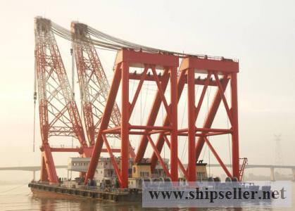 2600T A-TYPE FLOATING CRANE FOR SALE