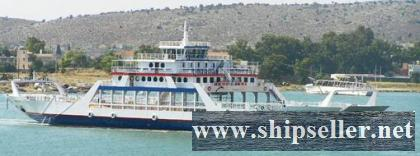 DOUBLE ENDED  DAY PASSENGER-CAR-TRUCK FERRY FOR SALE