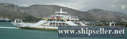DOUBLE ENDED CAR/DAY PAX/CARGO FERRY FOR SALE