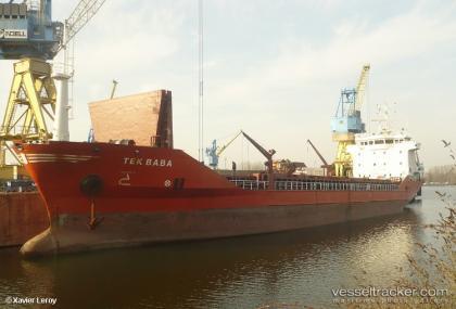 General Cargo (M/V TEKBABA) 6.5 Millon USD