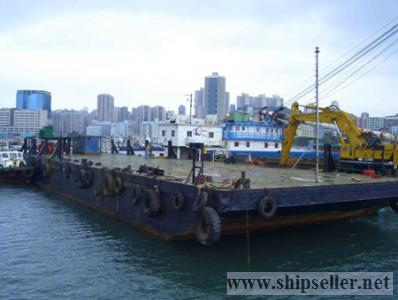 2500dwt flat top barge for sale