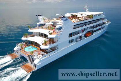 60m Luxury Boutique Cruise Ship