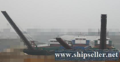 1600DWT  self-discharge sand vessel