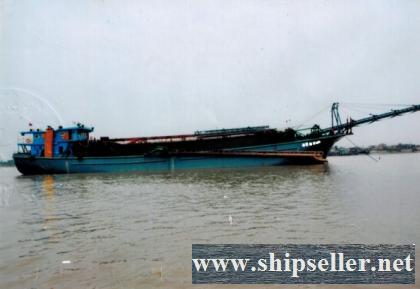 1210DWT Self-suction and discharge sand vessel